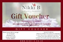 £30 Gift Voucher - Redeemable Aromatherapy Blending with Purpose  Online Workshop