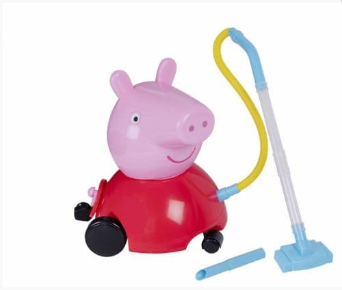 Peppa Pig Peppa's Vacuum Cleaner Real Working Suction Kids Role Play Toy Ages 3+