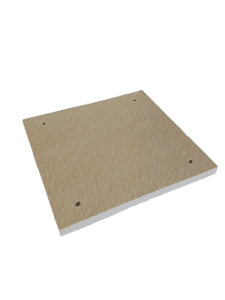 E Compact, Bioflame, Trianco Greenflame Classic 15kW door insulation board.