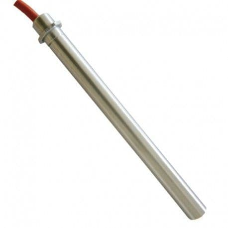 Igniter with flange