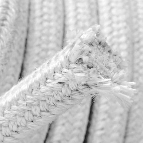 Stove Rope Seal, Square Braid 20mm x 20mm, total length 1 metre.