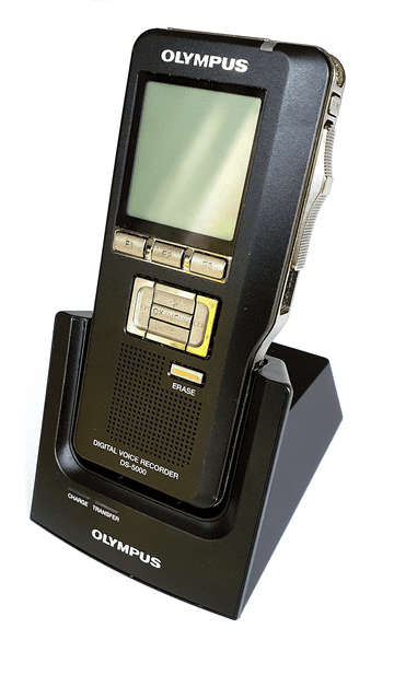 Olympus DS-5000 Digital Voice Recorder with Docking Station (Reconditioned)