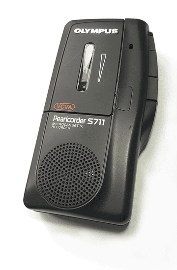 Olympus Pearlcorder S711 Micro Cassette Pocket Memo (Ex Display)