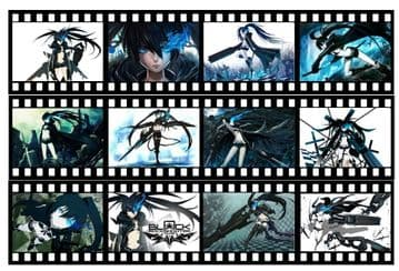 Black Rock Shooter Japanese Anime Film Strip Edible Icing