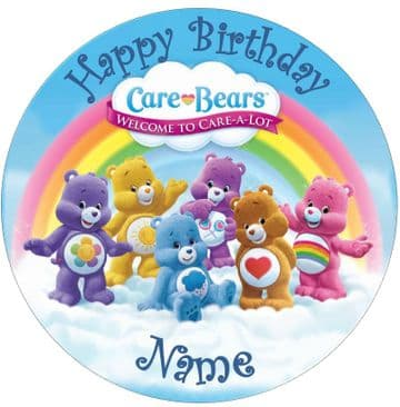 Care Bears 2 Edible - Pre Cut Personalised Icing Topper
