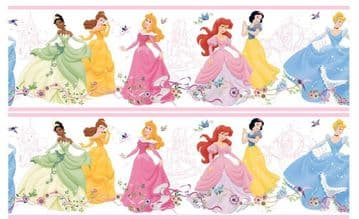 Disney Princess Continious Edible Icing Ribbon Precut