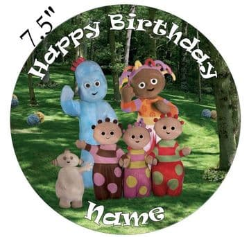 In The Night Garden Edible - Pre Cut Personalised Icing Topper