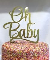 Large Foil Cake Toppers