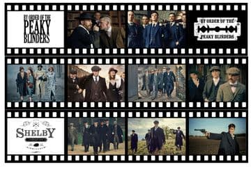 Peaky Blinders -  Film Strip Edible Icing