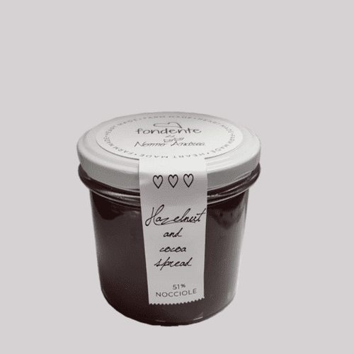 Hazelnut and cocoa spread