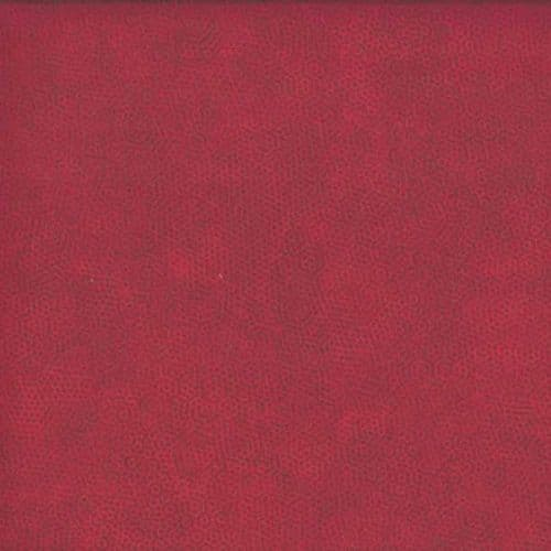 Makower - Dimples, Crimson R1 - Red Cotton Patchwork Fabric