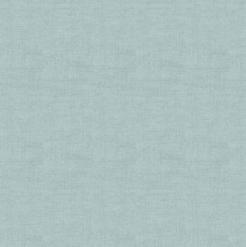 Makower - Linen Texture, Duck Egg - Blue Cotton Quilting Fabric
