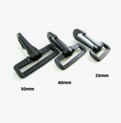 Delrin Dog Hook - (Sizes 25 - 50mm)