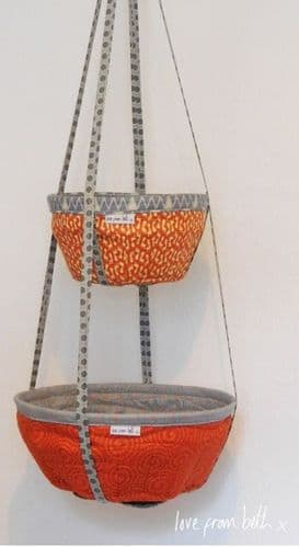 Love From Beth - Hanging Basket Sewing Pattern
