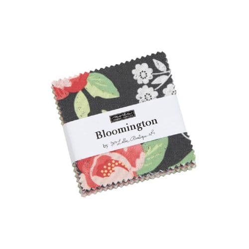 "Moda Mini Charm Pack - Bloomington- 42 x 2.5"" squares"