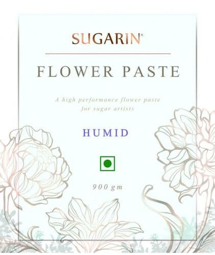 SUGARIN Flower Paste Humid, White, 900gm - SALE ITEM DISCOUNT CODES NOT ACCEPTED
