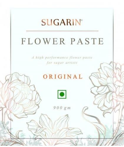 SUGARIN Flower Paste Original, White, 900gm - SALE ITEM DISCOUNT CODES NOT ACCEPTED