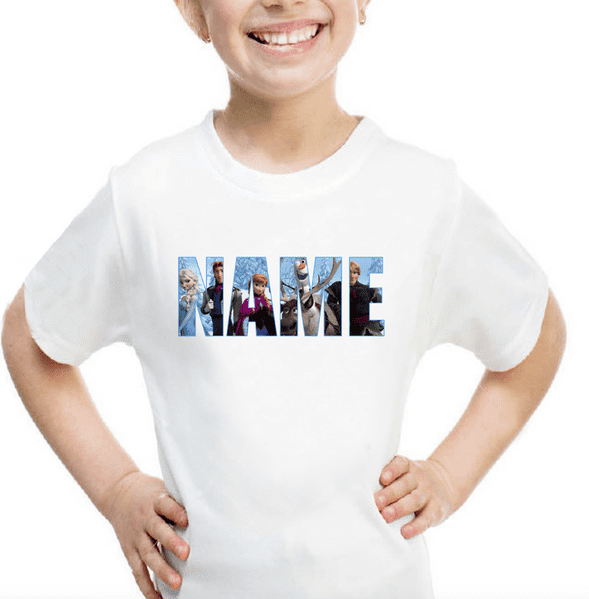 Frozen Personalised Logo T-shirt