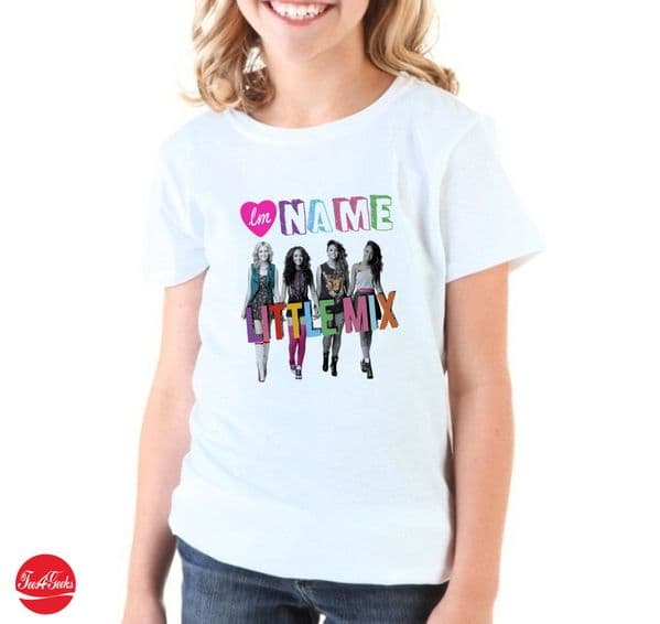 Little Mix Personalised T-shirt  04