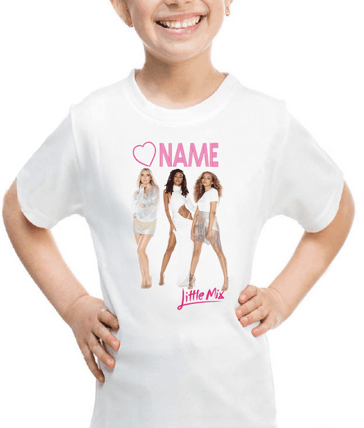 Little Mix Personalised T-shirt New