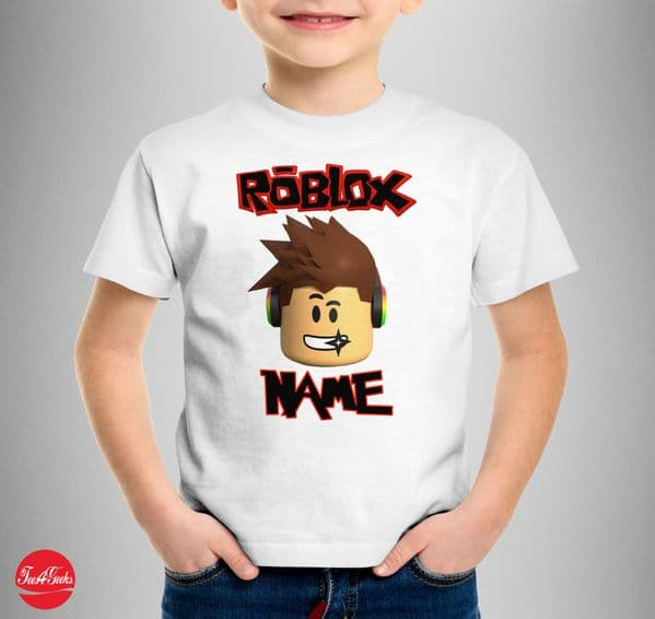 Personalised Roblox Face T-shirt