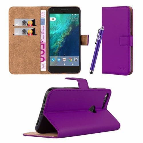 Google Pixel XL Cover Case Wallet with Stand