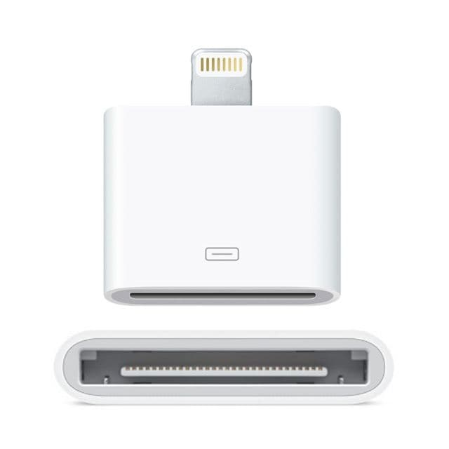 iPhone 5 Adapter - 80 to 30 Pin Dock Connector- iPhone 4 to iPhone 5
