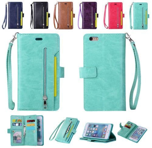iPhone 6 Purse Wallet Case Cover
