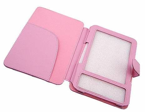 Kindle Keyboard Pink Folio Case Cover