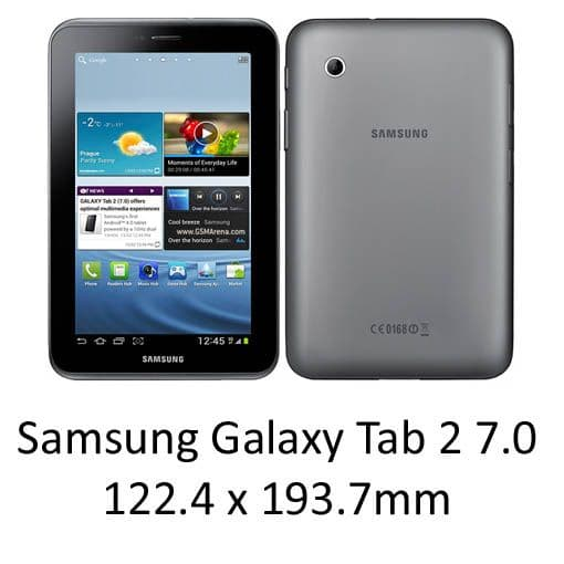 Samsung Galaxy Tab 2 7.0 Cases