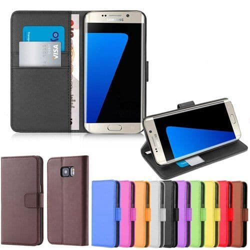 Samsung S6 Edge Wallet Stand Cover