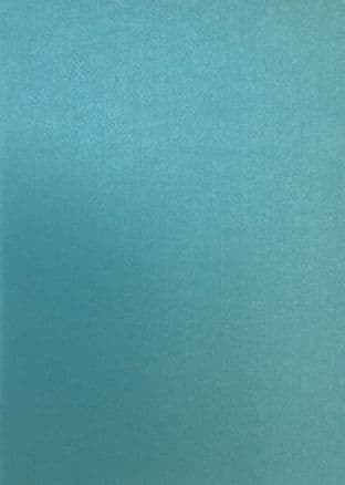 1 A4 SHEET DOUBLE SIDED PEARLESCENT CARD TURQUOISE - PAYPER BOX BRAND