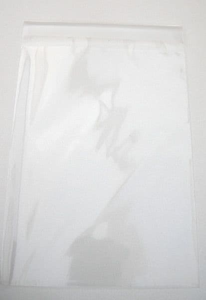 10 Clear Cello Bags For Cards C6