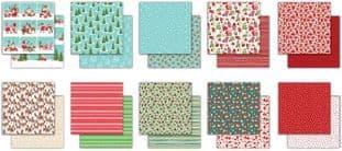 """10 Sheets It's Snome Time 6""""x6"""" Premium Paper Craft Consortium"""