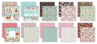 """10 Sheets Made By Elves  6""""x6"""" Premium Paper Craft Consortium"""