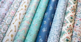 """10 Sheets Secret Garden 6""""x6"""" Premium Paper Craft Consortium"""