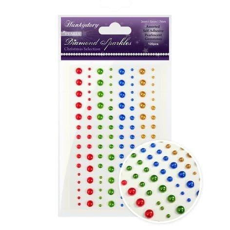120 Diamond Sparkles Gemstones - Precious Pearls - Christmas Selection