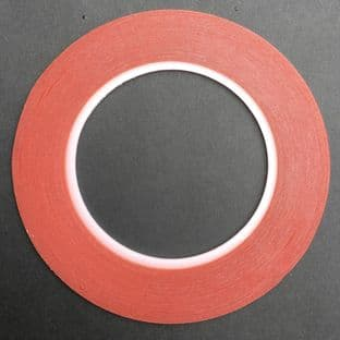 25m Roll Hi  Tack  SUPER STICKY DOUBLE SIDED TAPE 6mm wide