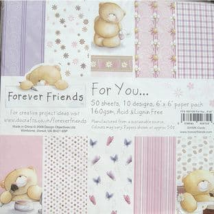 6X6 FOREVER FRIENDS FOR YOU PAPER PACK
