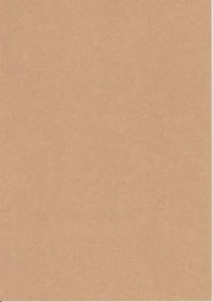 A4 PLAIN KRAFT CARD BROWN 220gsm