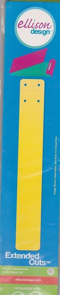 ALBUM MATCHBOOK CUTTING DIE ELLISON DESIGN EXTENDED CUTS 23883