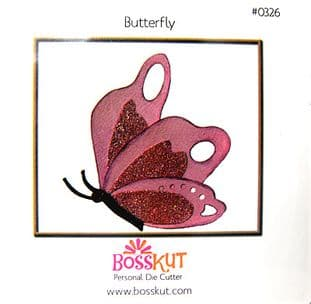 ANIMAL BOSSKUT DIE - BUTTERFLY 0326