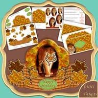 Animal Card Kit Downloads