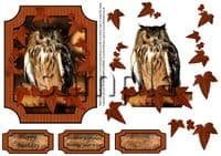 Animal Decoupage Sheets by Janet Briggs