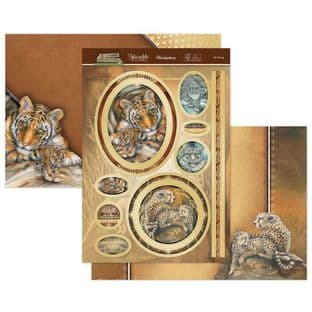 Animal Kingdom - Be Strong Luxury Topper Set Hunkydory