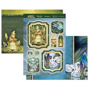 Animal Kingdom - Love Conquers Luxury Topper Set Hunkydory