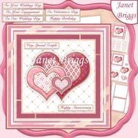 Anniversary & Valentine Card Kit Downloads