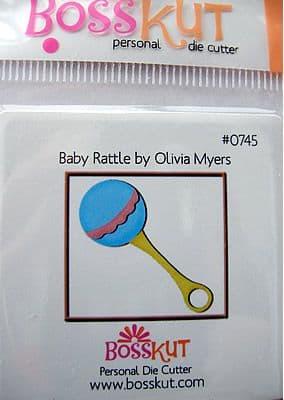 BABY BOSS KUT DIE - BABY RATTLE