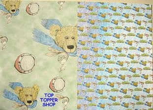 BEAR LIFE - BIKER BOY - DESIGN HOUSE BACKING PAPER