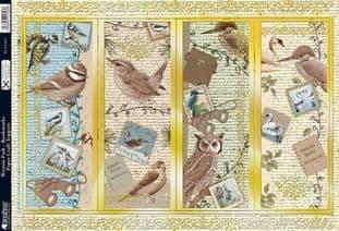 BIRDS - WESTON PARK BOOKMARKS KANBAN 1343
